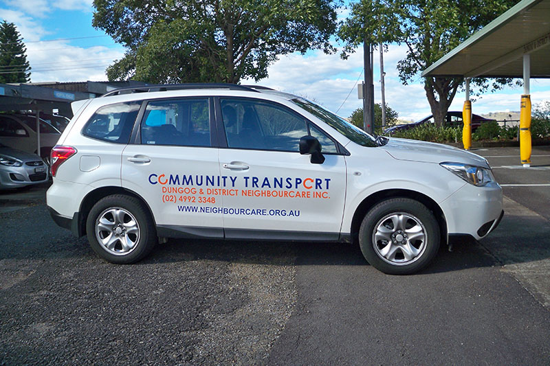 Community Transport vehicle